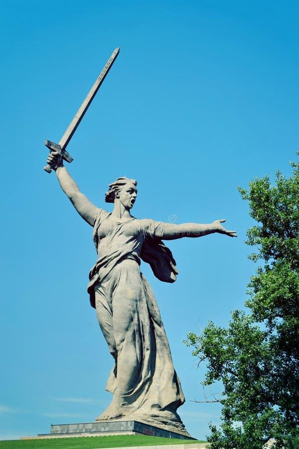 volgograd royalty-vrije stock fotografie