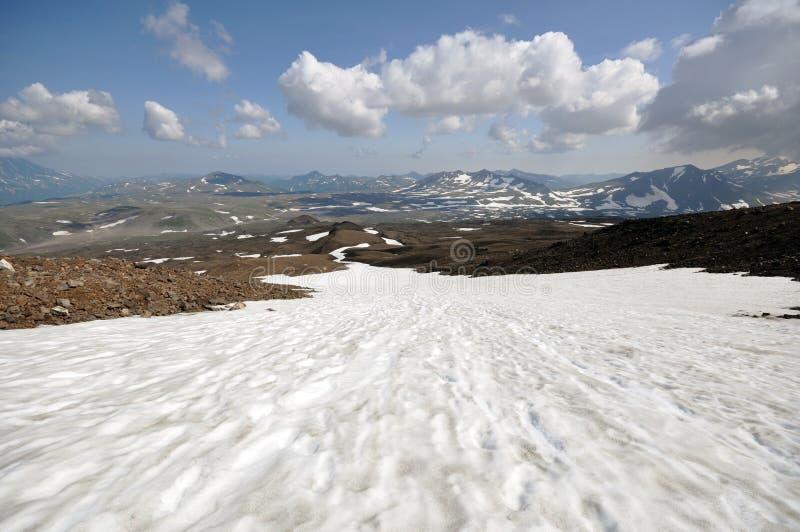 Volkano di Kamchatka fotografia stock