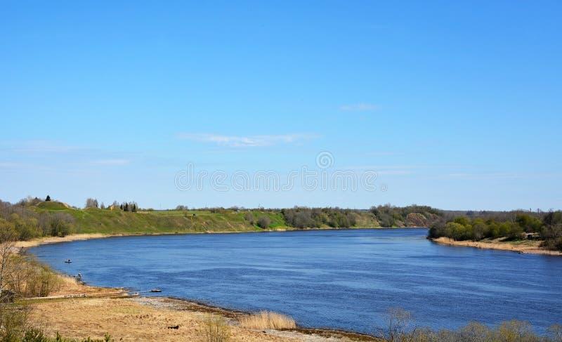 Volkhov River Valley стоковое изображение