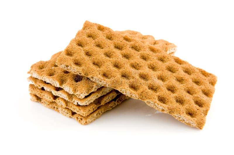 Volkoren crackers stock fotografie