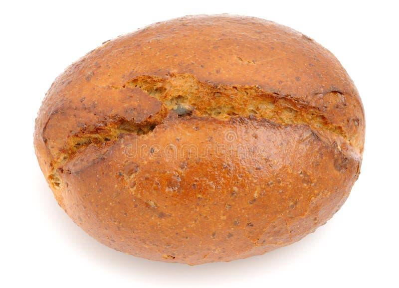 Volkorenbroodbroodje royalty-vrije stock afbeeldingen