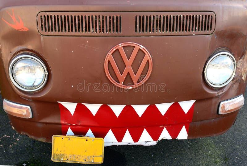 Volks skåpbil royaltyfri bild