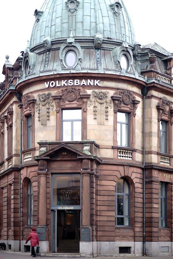 Volksbank Καισερσλάουτερν στοκ φωτογραφία