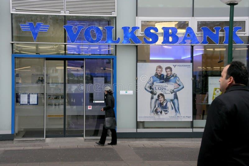 Volksbank fotografia de stock royalty free