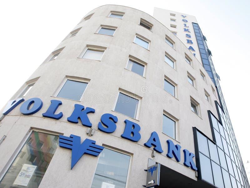 Volksbank bank royalty free stock photo