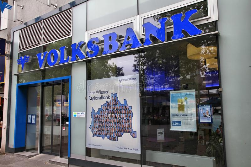 Volksbank royalty free stock image