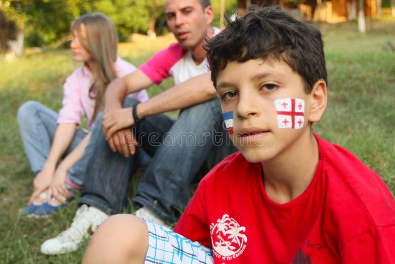 Volkskunst-Gen-Festival in Georgia lizenzfreie stockfotos