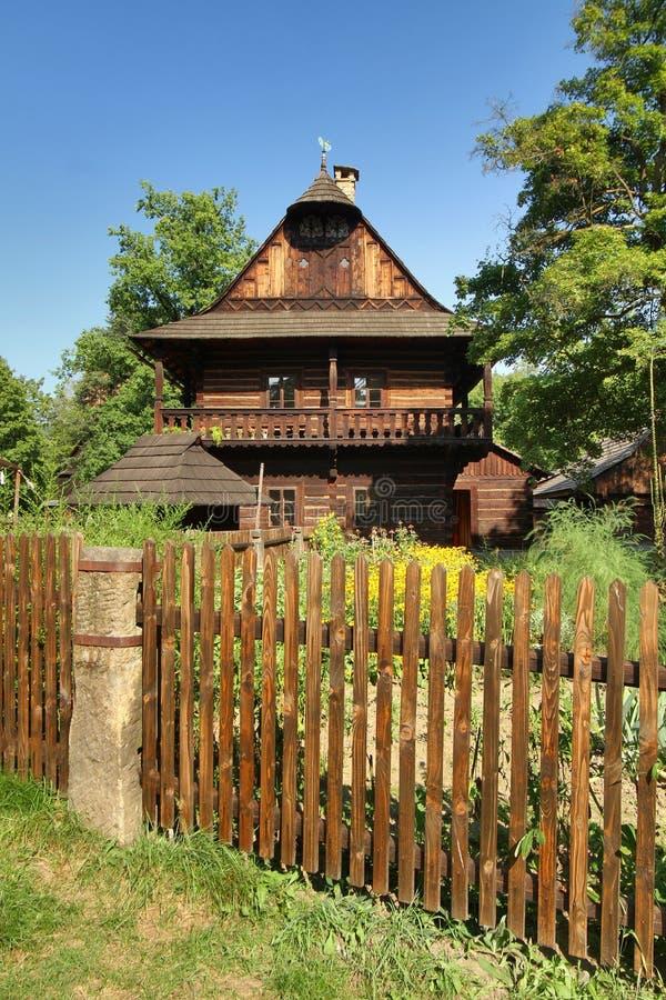 Volksmuseum in der Tschechischen Republik lizenzfreies stockbild