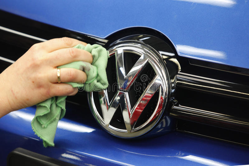 Volkswagen royalty free stock photography