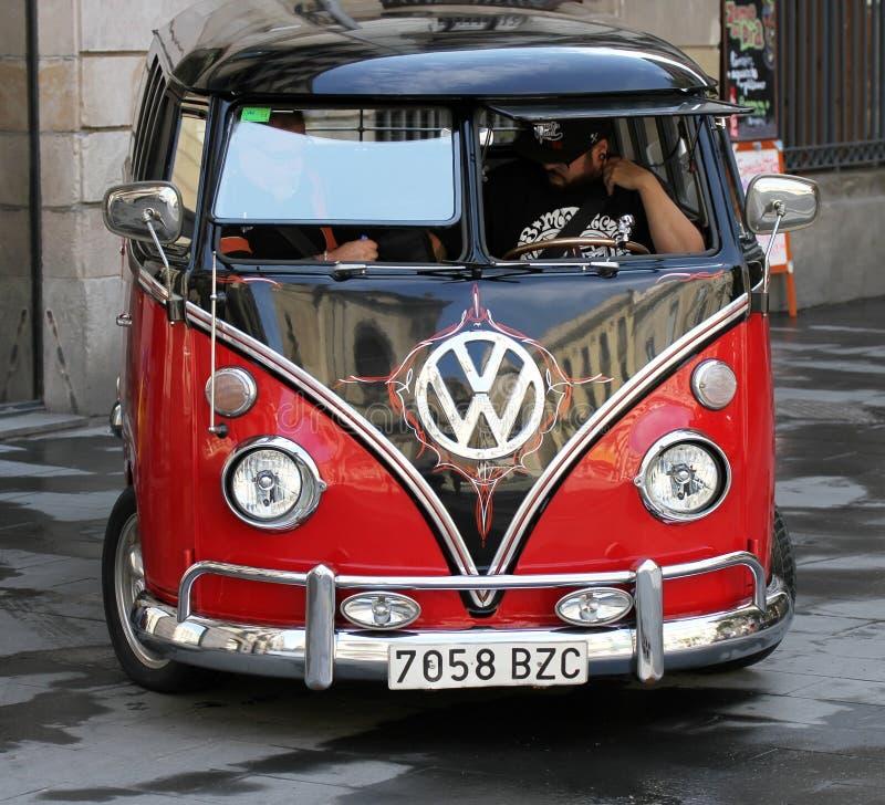 Volkswagen-auto stock fotografie