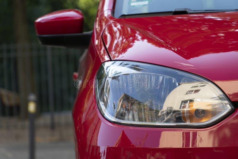 Volkswagen-autokoplamp, vooraanzicht royalty-vrije stock foto