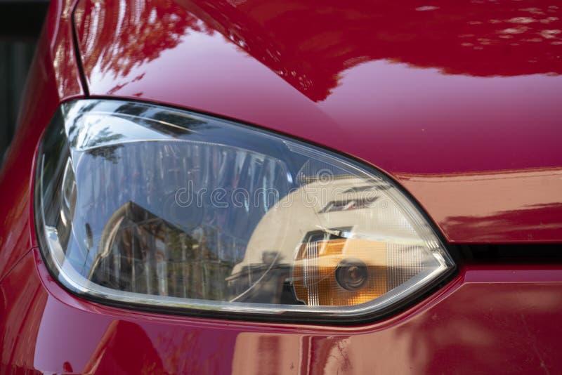 Volkswagen-autokoplamp, vooraanzicht royalty-vrije stock afbeeldingen