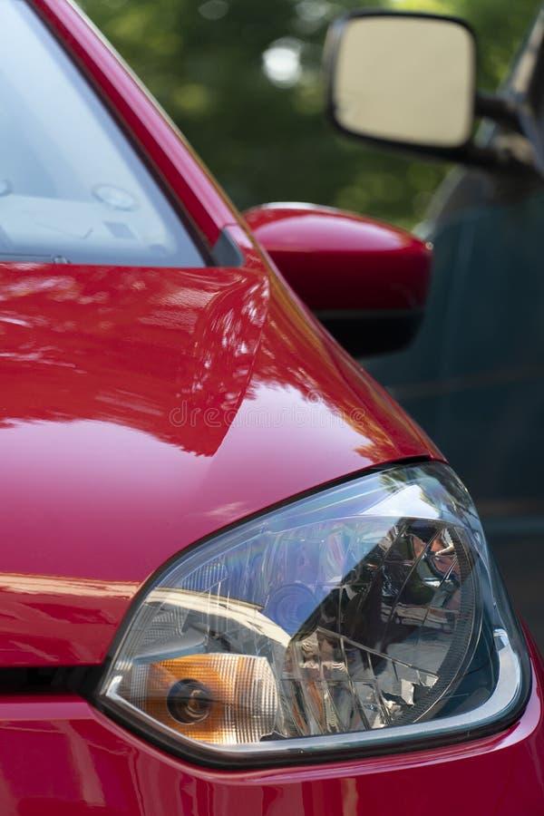 Volkswagen-autokoplamp, vooraanzicht royalty-vrije stock foto's