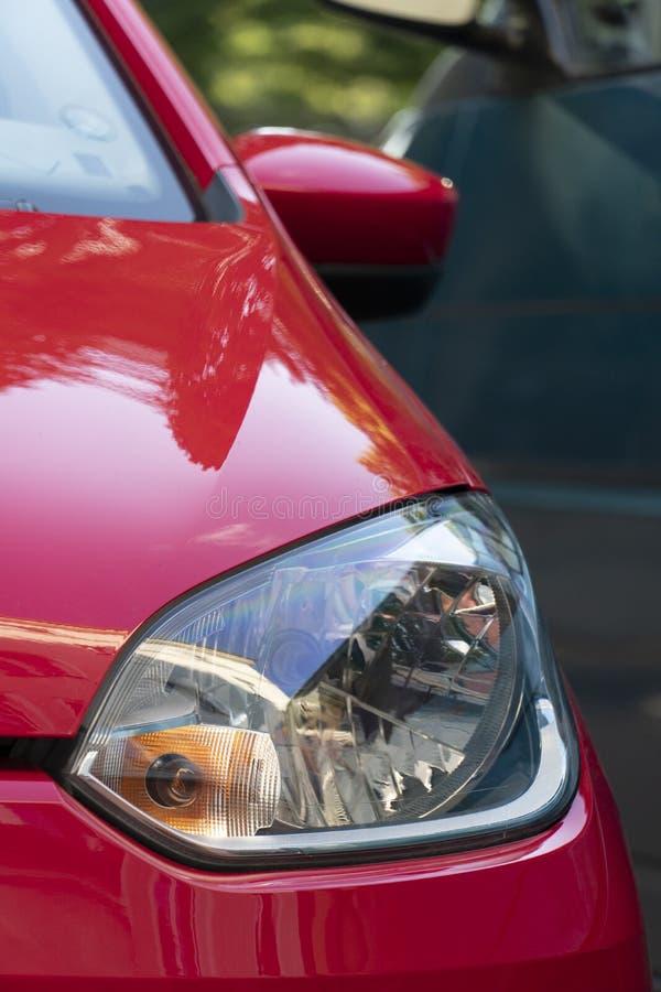 Volkswagen-autokoplamp, vooraanzicht stock foto