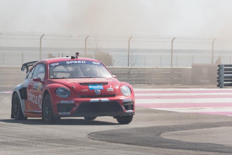 Volkswagen Beetle управляемое скоростью #41 Скотта стоковая фотография