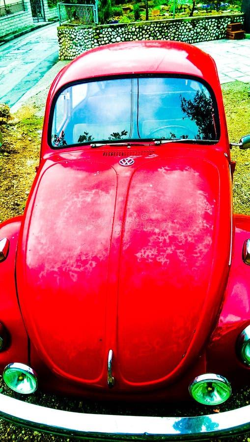 Volkswagen Beetle 1974 foto de archivo