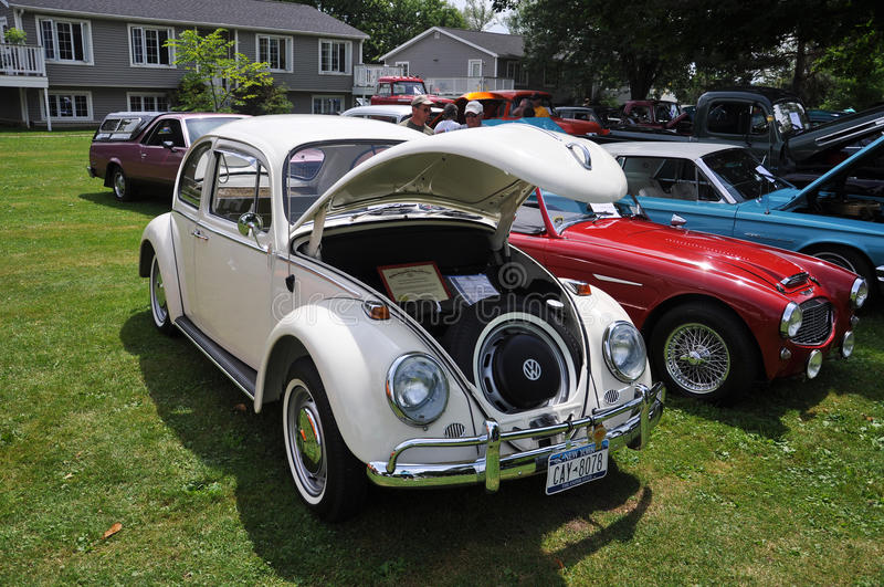 Download Volkswagen Beetle In Antique Car Show Editorial Stock Photo - Image: 15259203