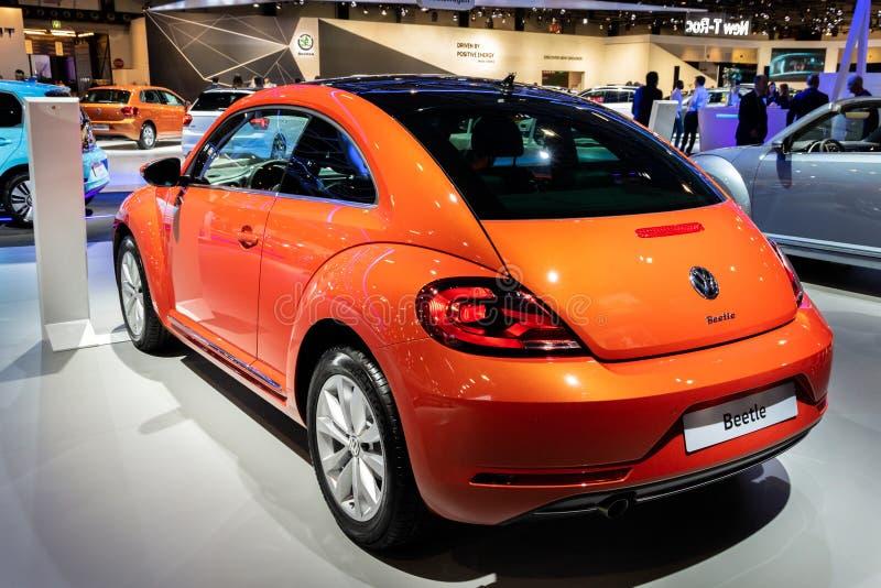 Volkswagen Beetle-auto royalty-vrije stock foto's