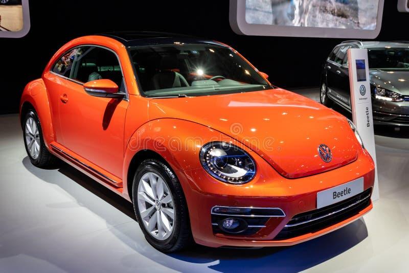 Volkswagen Beetle-auto stock foto's