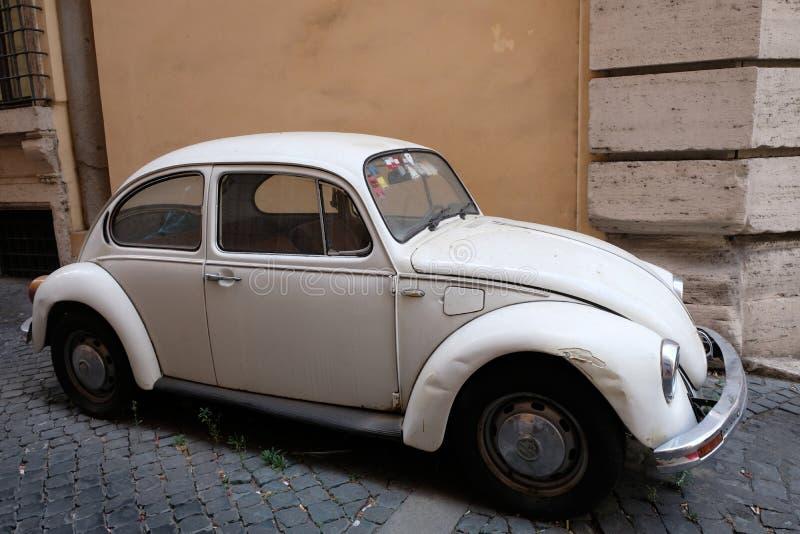 Volkswagen Beetle samochód zdjęcia royalty free