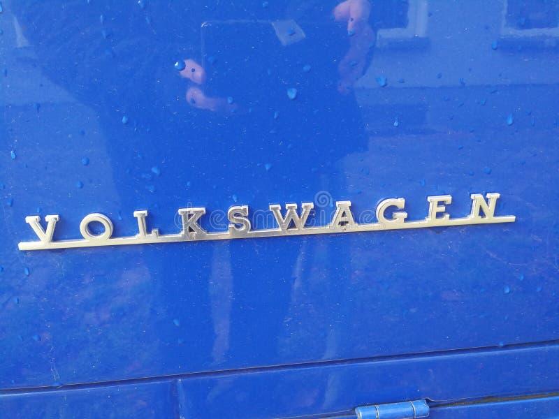 Volkswagen Bila Företag emblem royaltyfria foton