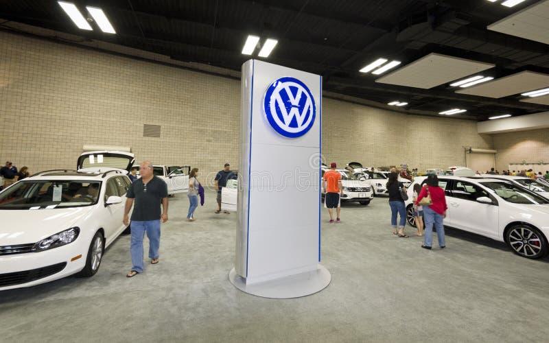 Volkswagen bilar royaltyfri fotografi