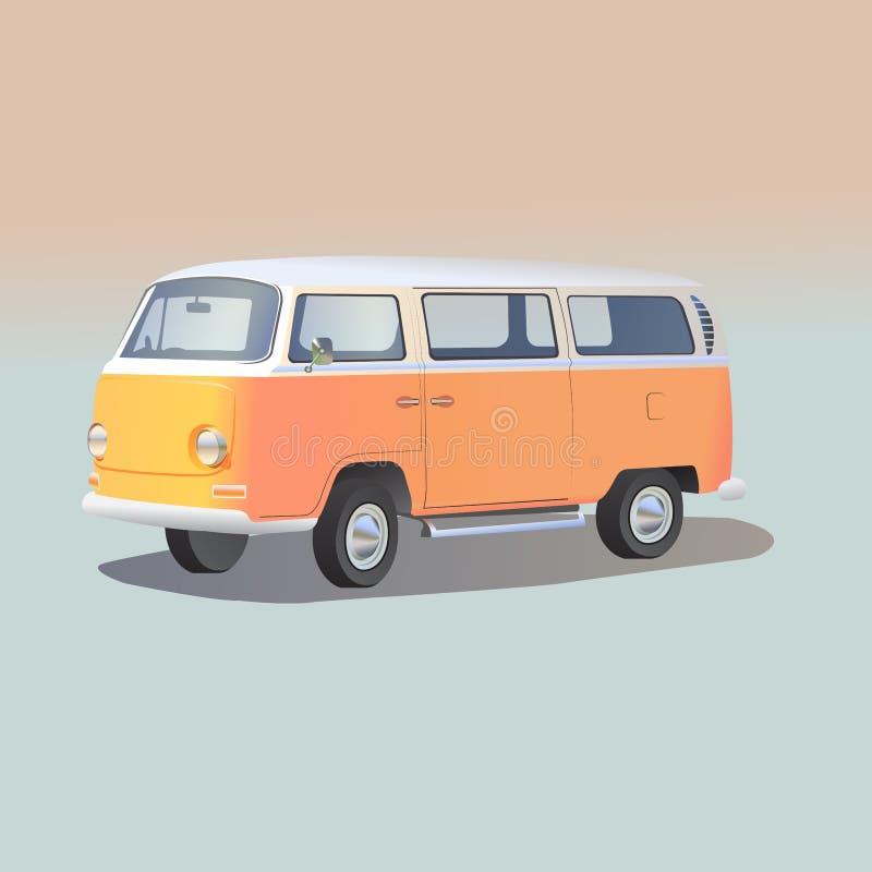 Volkswagen-Bus stockfoto