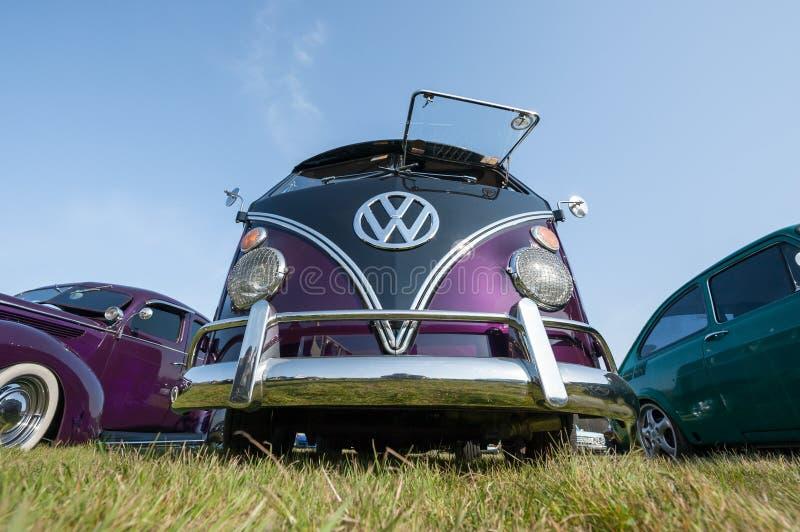 Volkswagen camper van royalty-vrije stock foto