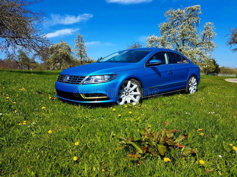 Volkswagen cc images libres de droits