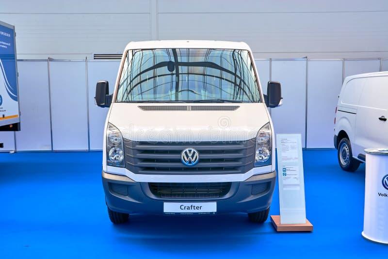 Volkswagen Crafter stock afbeeldingen