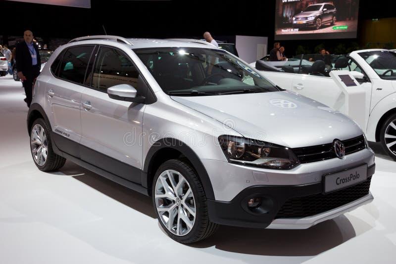 Volkswagen CrossPolo bil royaltyfria bilder