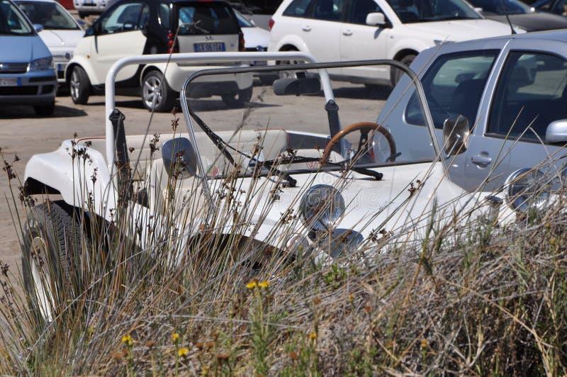 Volkswagen-Dünen-Buggy Auto der Weinlese nicht für den Straßenverkehr stockbild