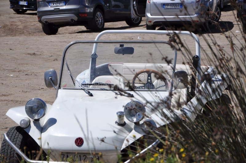Volkswagen-Dünen-Buggy Auto der Weinlese nicht für den Straßenverkehr lizenzfreie stockfotografie