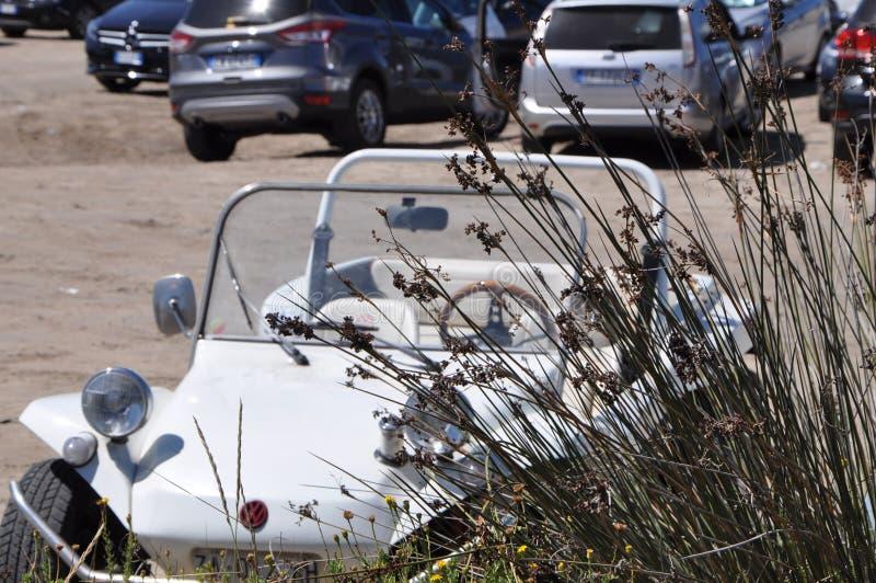 Volkswagen-Dünen-Buggy Auto der Weinlese nicht für den Straßenverkehr stockfoto