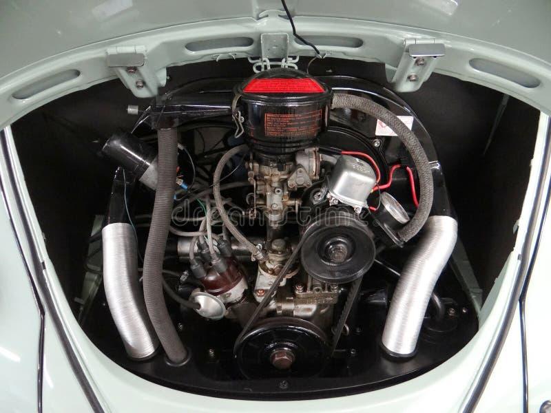 Volkswagen-de baai van de kevermotor stock afbeelding