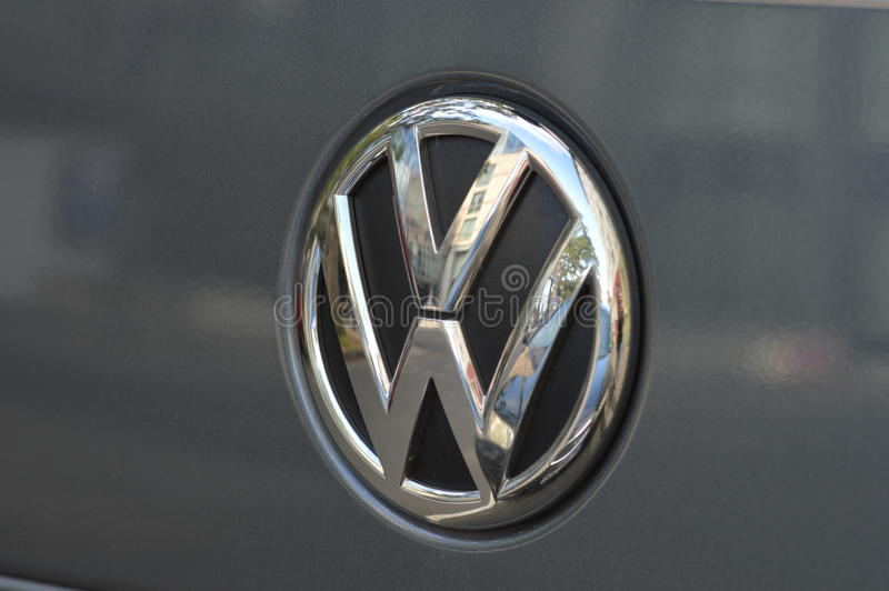 Volkswagen de engaño fotos de archivo
