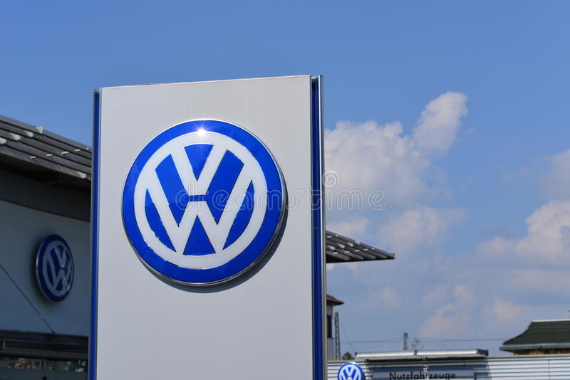 Volkswagen royalty free stock photo
