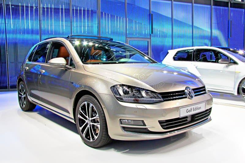 Volkswagen Golf fotografia stock libera da diritti