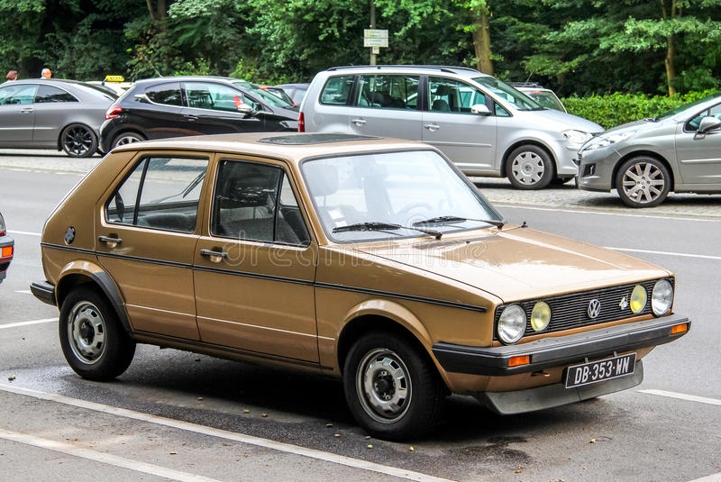Volkswagen Golf stock afbeelding
