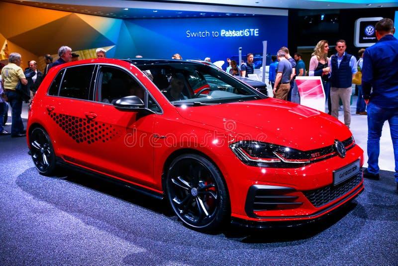 Volkswagen Golf GTI TCR stock foto
