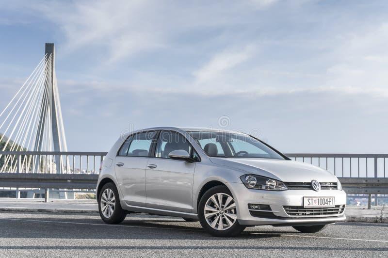 Volkswagen Golf VII image libre de droits