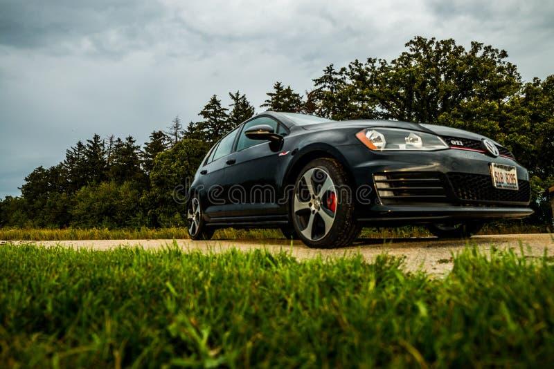 Volkswagen GTI imagem de stock