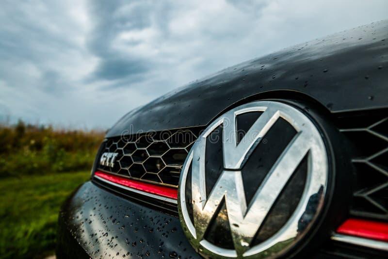 Volkswagen GTI imagens de stock