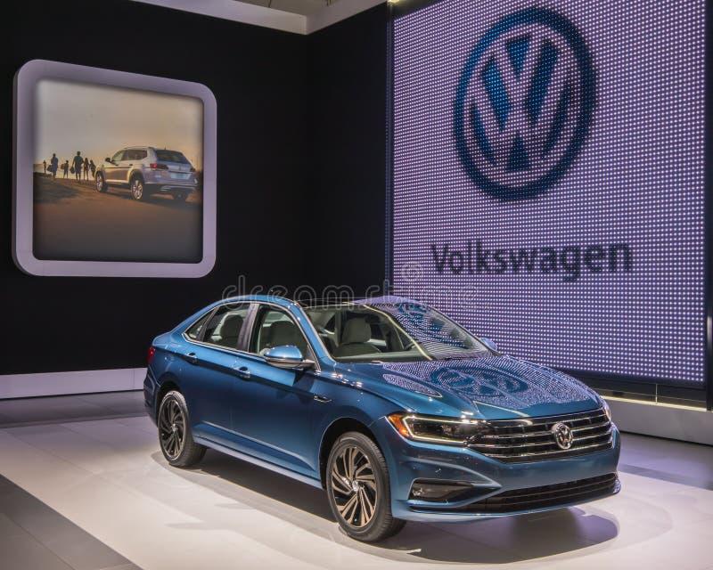 2019 Volkswagen Jetta stock foto's