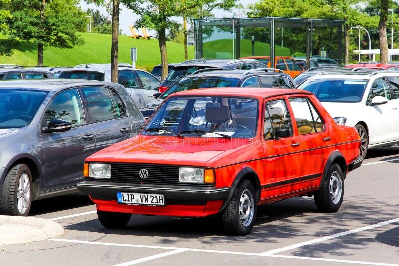 Volkswagen Jetta stock afbeeldingen