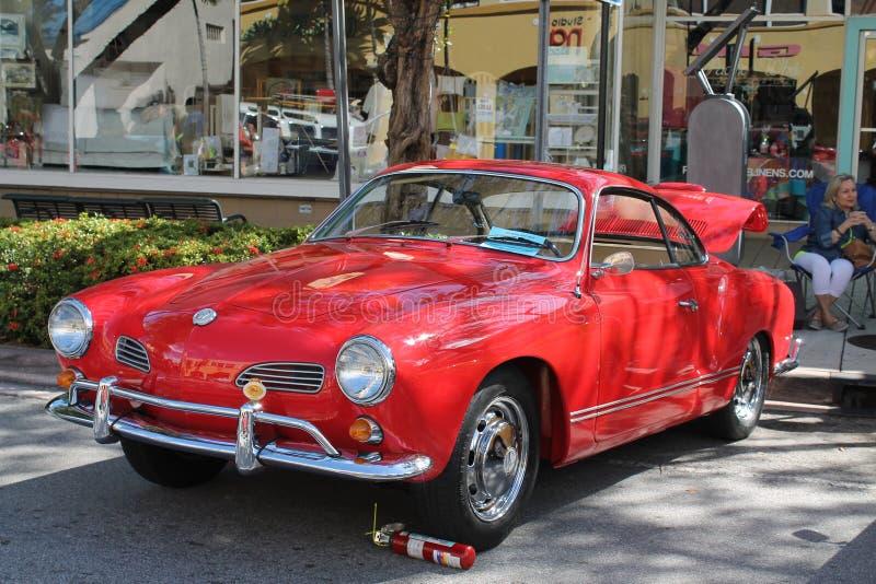 Volkswagen Karmann Ghia clásico fotos de archivo