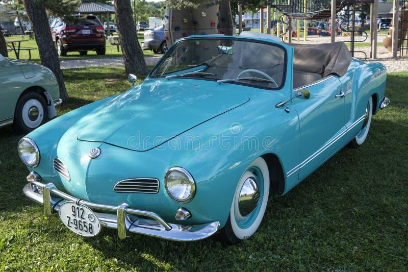 Volkswagen karmann ghia stock image