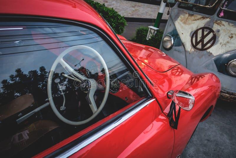 Volkswagen karmann ghia stock photo