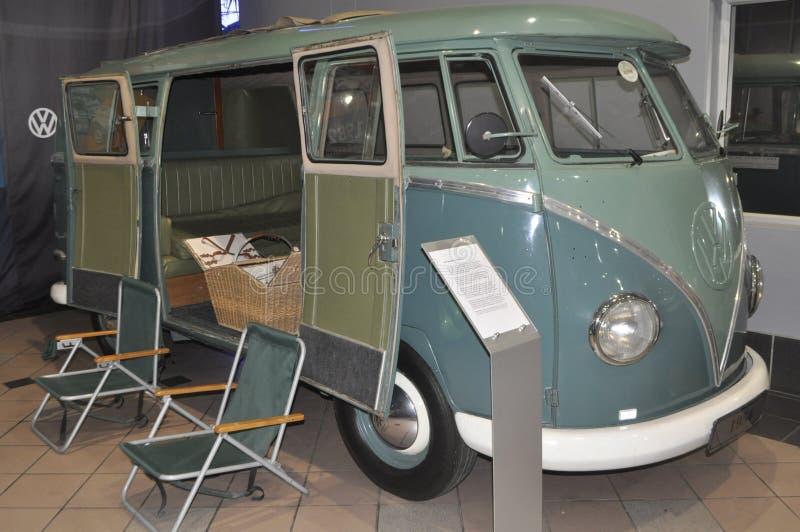 Volkswagen Kombi, Camper, 1950 stockbild