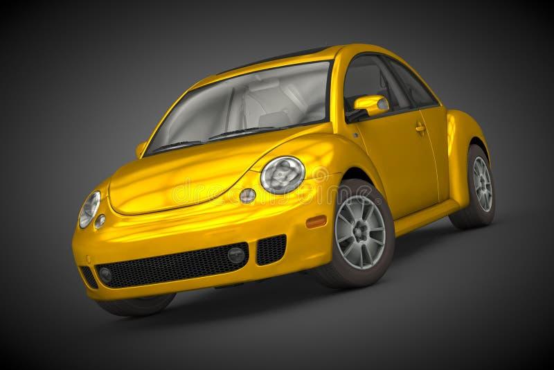Volkswagen New Beetle (2004) stock images